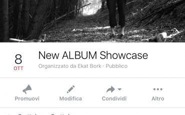 "OCTOBER 8th ""NEW Album YASDYES Showcase"" at 23:45 LIVING ROOM, Lugano"