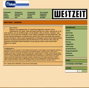 westzeit