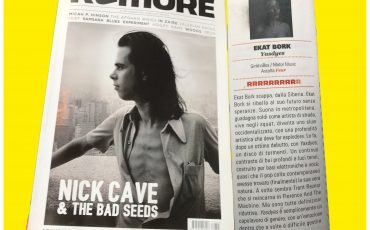 """Spectacular  """"YASDYES"""" review on """" RUMORE"""" magazine."""