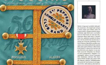 """Mucchio selvagio"" magazine about ""YASDYES""."